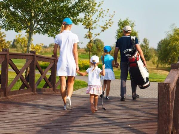 Golfmedlemskap familj